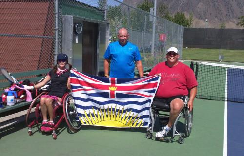 Wheelchair Tennis Comes to the 2014 Kamloops Legacy Games