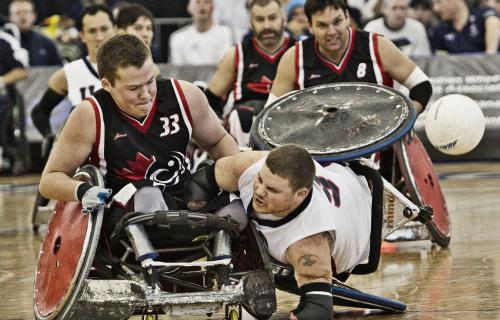 top wheelchair rugby teams gear up for the 2014 canada cup